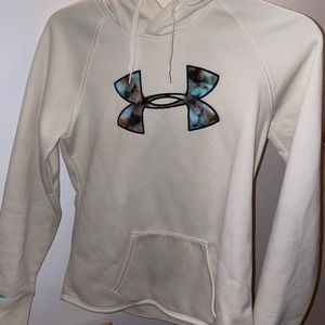 Under armour hoodie with galaxy symbol